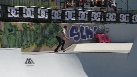 Nuno Cardoso during the DC Skate Challenge Footage