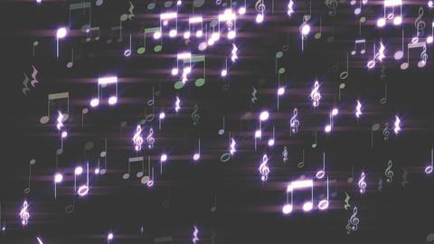 音符のライン Animation