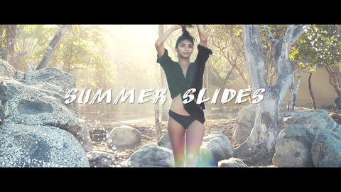 Summer Slides Premiere Pro Template