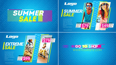 Summer SALE After Effects Template