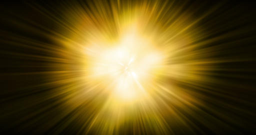 abstract gold warm color bright lens flare rays flashes leak explosion shockwave movement for Footage