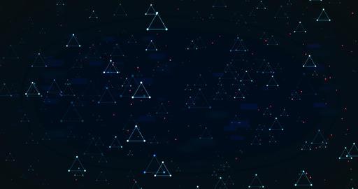 Blue Triangles 실사 촬영