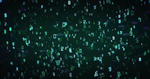 Binary Digital Background 실사 촬영