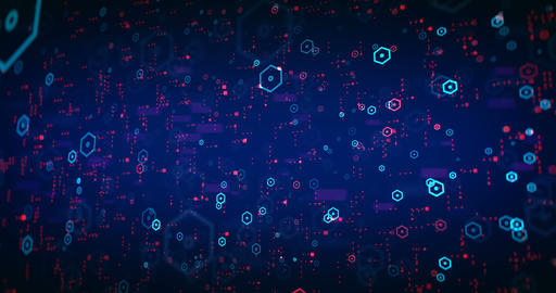 Big Data Background 실사 촬영