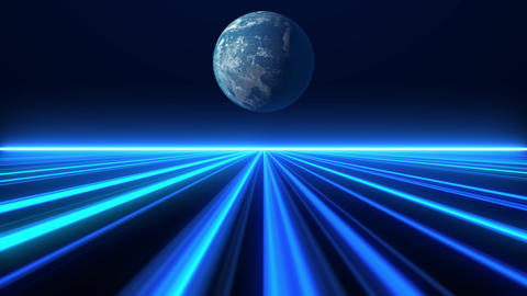 Digital Speed Lines Background Animation
