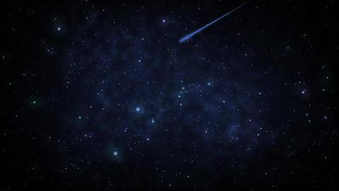 Mov110 shooting star loop 04 CG動画