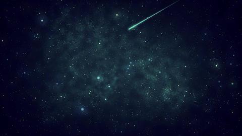 Mov110 shooting star loop 08 CG動画