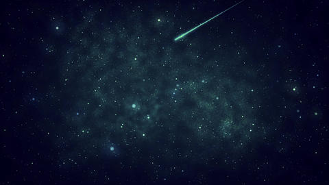 Mov110 shooting star loop 08 Animation