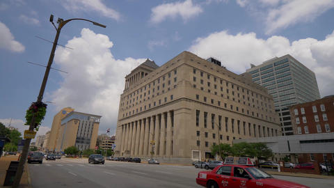 Carnahan Courthouse St. Louis City Circuit Court- SAINT LOUIS, USA - JUNE 19 Footage