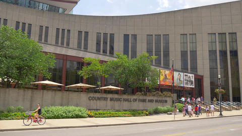 Country Music Hall of Fame and museum in Nashville - NASHVILLE, UNITED STATES - Live Action