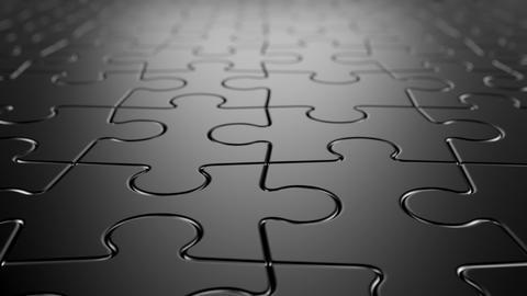 Jigsaw Puzzle Background Animation