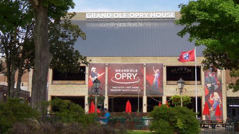 Famous landmark in Nashville - The Grand Ole Opry - NASHVILLE, UNITED STATES - Live Action
