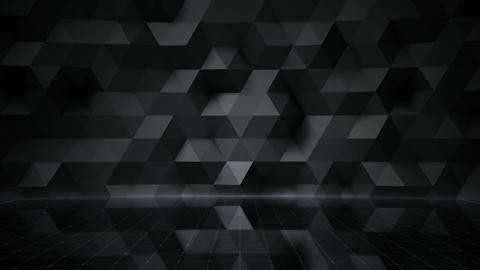 Geometric Wall Stage 1 NA3Fd 4k Animation