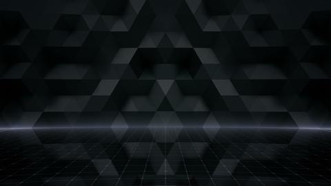 Geometric Wall Stage 1 NA3Fw 4k Animation