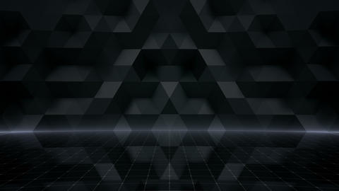 Geometric Wall Stage 1 NA3Fw 4k Videos animados