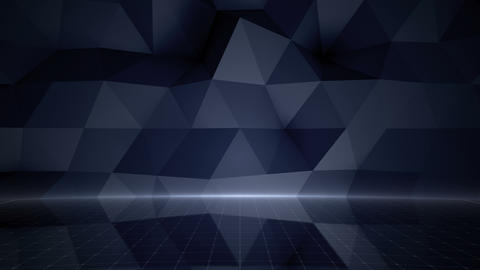 Geometric Wall Stage 1 NApFb 4k Animation