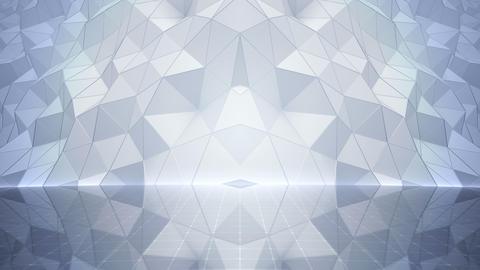 Geometric Wall Stage 1 NDpFw 4k Animation