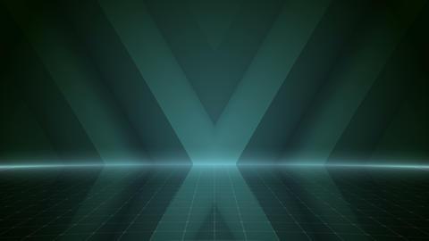 Geometric Wall Stage 2 WA2Sb 4k Animation