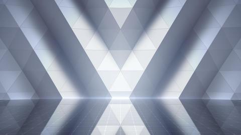 Geometric Wall Stage 2 WA2Zw 4k Animation
