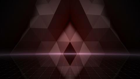 Geometric Wall Stage 2 WApZd 4k Animation