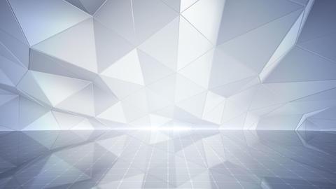 Geometric Wall Stage 1 NBpFw 4k Animation