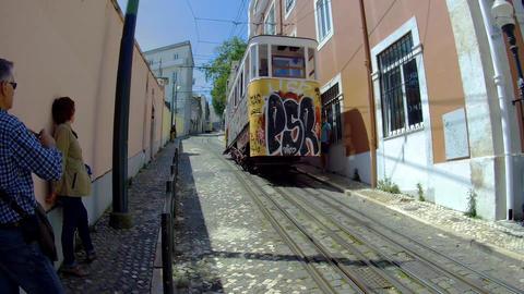 Lisboa Elevador Footage
