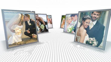 Frame Slideshow After Effects Template