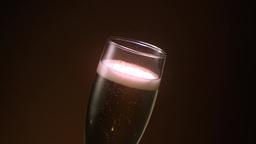 Champagne Flute Pour Footage