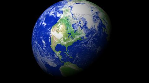 4K Earth Zoom: New York - USA Animation