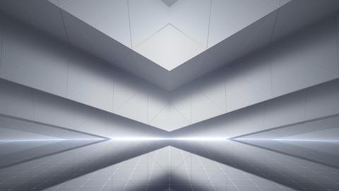 Geometric Wall Stage 2 WBpSw 4k Animation
