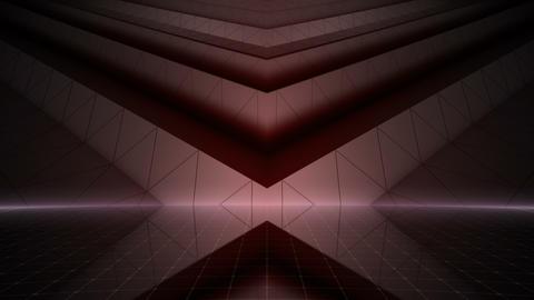 Geometric Wall Stage 2 WBpSd 4k Animation