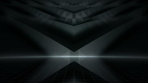 Geometric Wall Stage 2 WBpZd 4k Animation