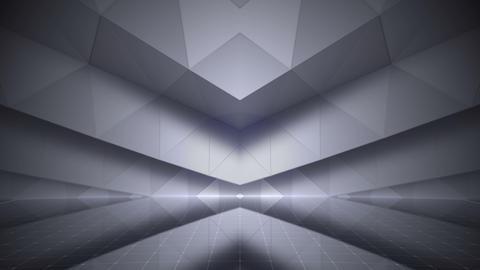 Geometric Wall Stage 2 WBpZw 4k CG動画