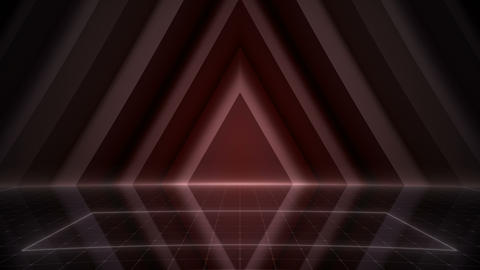Geometric Wall Stage 2 WA3Sd 4k Stock Video Footage