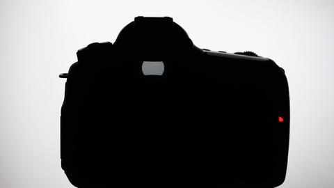 DSLR silhouette Footage