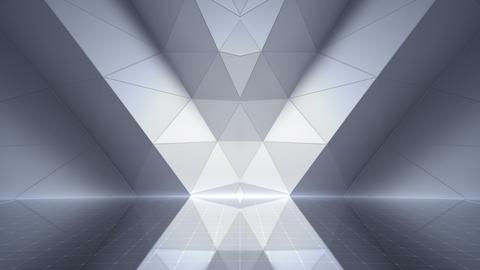 Geometric Wall Stage 2 WCpZw 4k Animation