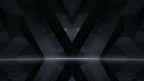 Geometric Wall Stage 4 WApZ Rd 4k CG動画