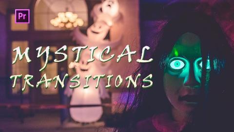 Mystical Transitions Premiere Pro Template