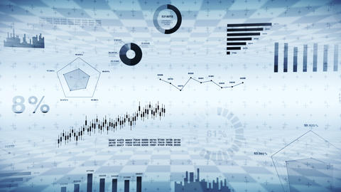 Stock market investment trading. Business infographic…, Stock Animation