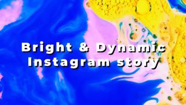 Bright & Dynamic Instagram Story Premiere Proテンプレート