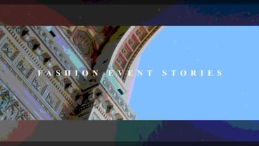 Fashion Event Stories Premiere Proテンプレート
