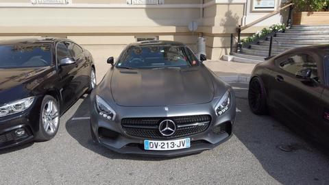 Mercedes-Benz SLS AMG Footage