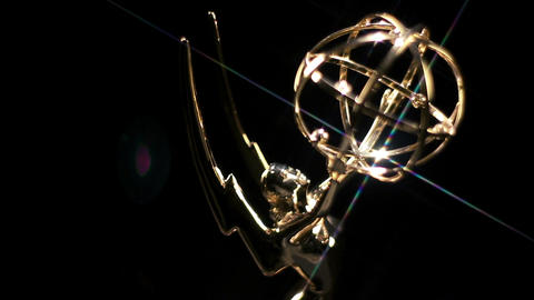 Emmy Award Rotate Star Filter Footage