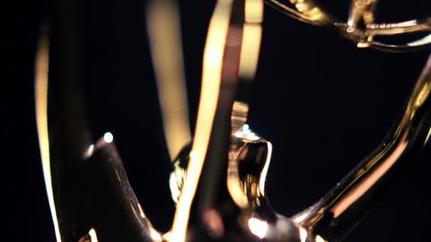 Emmy Award Transition close up Footage