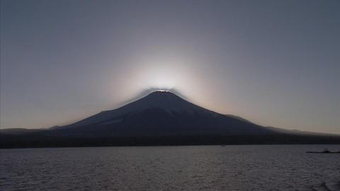 山中湖山頂02 Footage