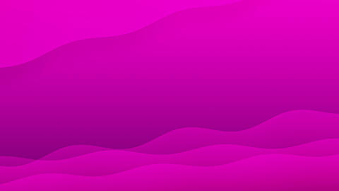 Abstract Looping Background of Pink Colored Shapes Waving CG動画