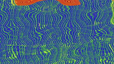 Colorful geometrical cyberpunk elegant iridescent background Footage