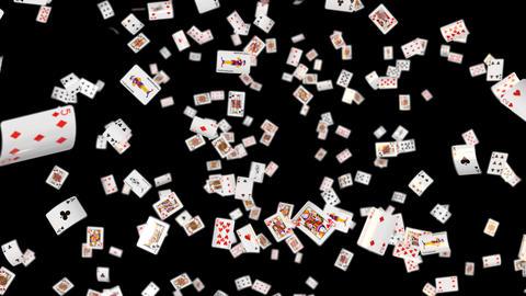 Poker card all loop DOF Animation