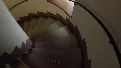 winding staircase Footage