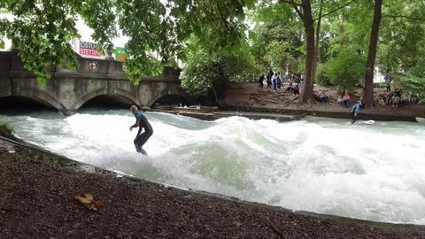 Riversurfing 4K Live Action